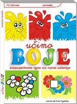 Učimo boje edukativne igre za djecu za učenje boja