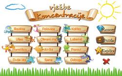 Interaktivne igre za razvijanje i uvježbavanje koncentracije i pažnje